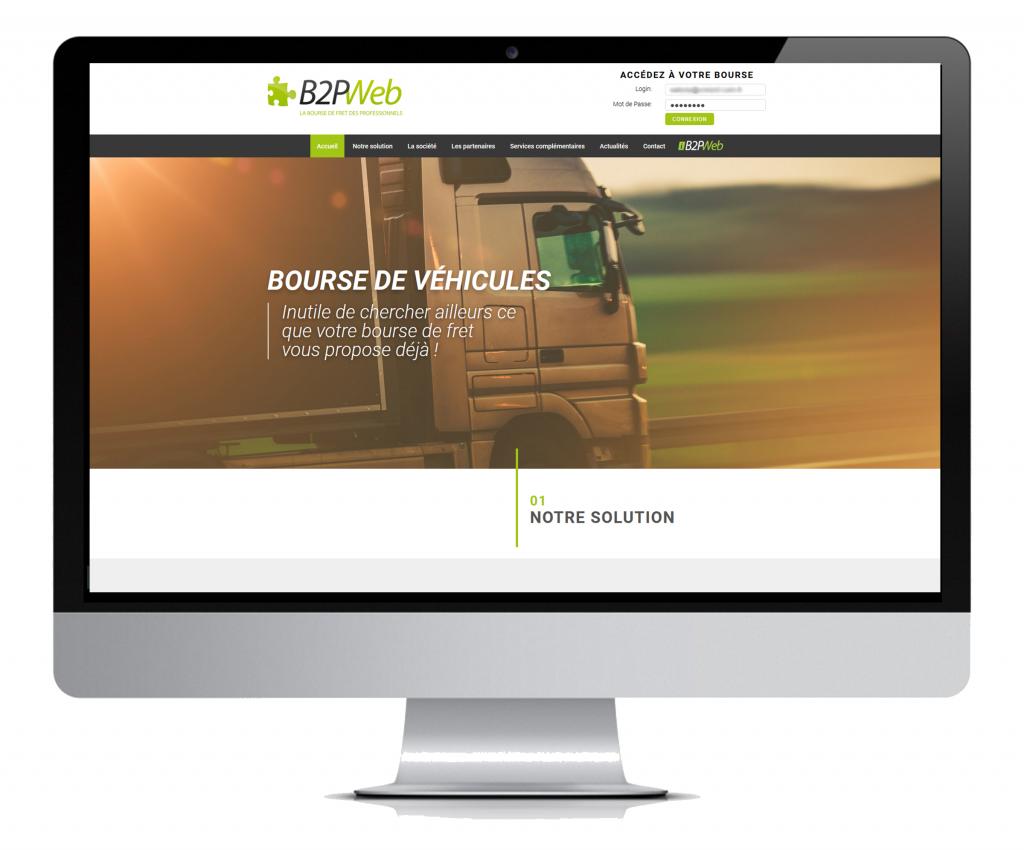 nouveau site B2PWeb